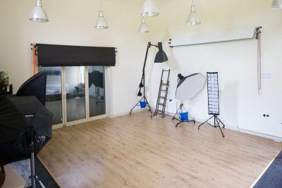 the interior of Pavilion Photographic Studio