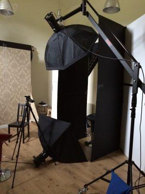 Pavilion studio - in use