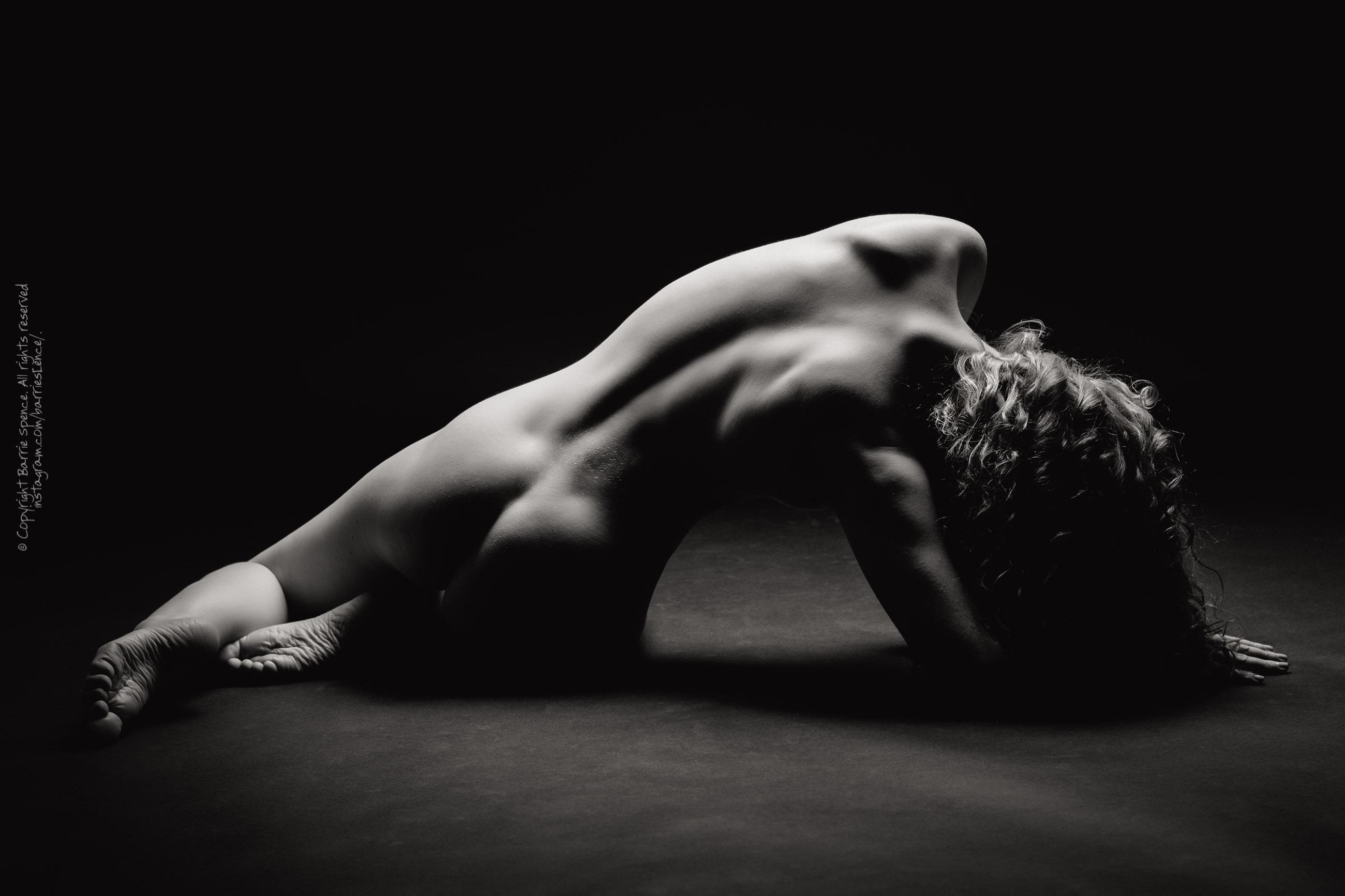 Ivory Flame studio nude
