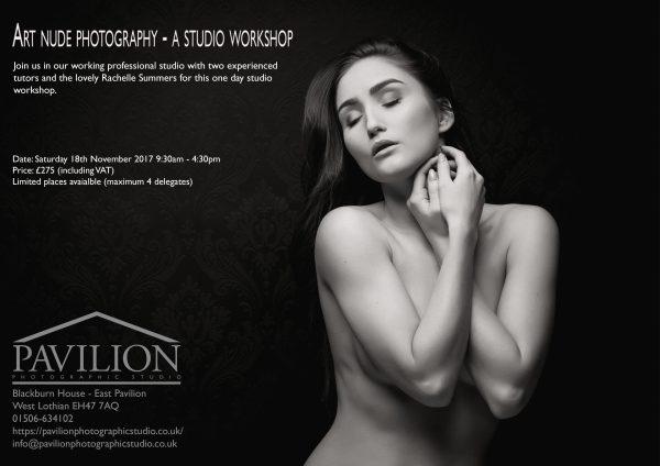 Art nude photography Nov 2017 flyer